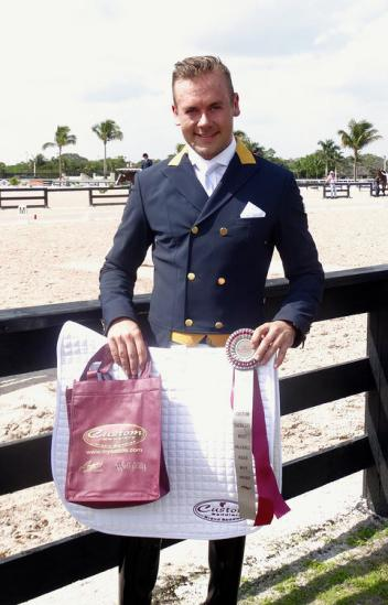 Endel Ots, Custom Saddlery, MVR Award, Adequan Global Dressage Festival