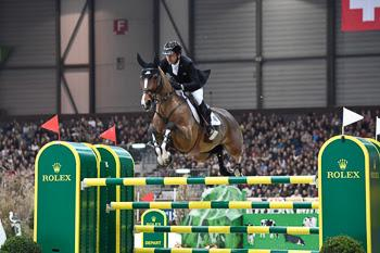 Three-time Olympic medalist Eric Lamaze of Canada and Fine Lady 5 will defend their title in the 475,000 CHF Rolex IJRC Top Ten Final on Friday night, December 8, in Geneva, Switzerland.