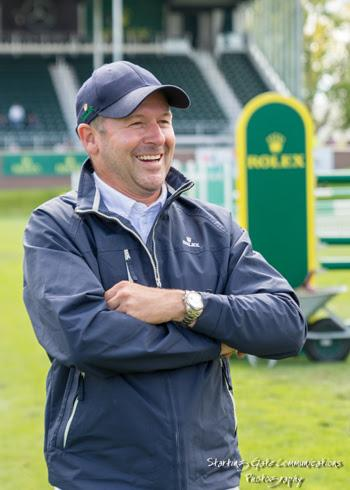 2016 Olympic bronze medalist and Rolex Testimonee Eric Lamaze at the Spruce Meadows 'Masters' tournament in Calgary, Alberta, Canada