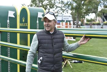 Canadian Olympic Champion and Rolex Testimonee Eric Lamaze at the Spruce Meadows 'Masters' tournament in Calgary, Alberta, Canada.  Photo © Kit Houghton/Rolex