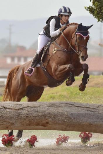 Erin Kellerhouse enjoying the ride and Reserve Championship on Rondelet in Five-year-old division Young Event Horse Championship