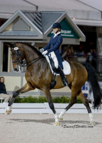The FEI Grand Prix Freestyle presented by Everglades Dressage will begin at 7:00 p.m. on Saturday, March 5.
