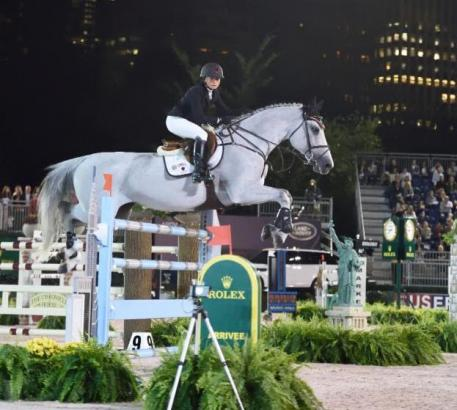 Georgina Bloomberg at the 2014 Rolex Central Park Horse Show. Photo ©Rolex/Kit Houghton