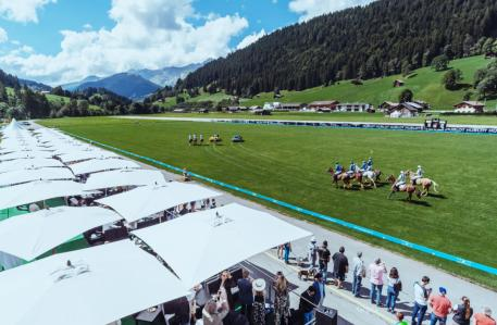 The airport Gstaad-Saanen, Switzerland