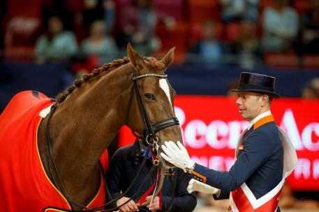Hans Peter Minderhoud, NED, Glock's Flirt, Reem Acra FEI World Cup™ Finals, Gothenburg, Sweden, 2016