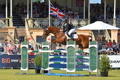 Hazel Shannon and Clifford cruised home to win today's FEI Classics™ at the Australian International 3 Day Event in Adelaide.