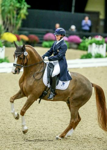 Heather Mason and Warsteiner were crowned Intermediate II Open Champions at the 2016 US Dressage Finals presented by Adequan®.