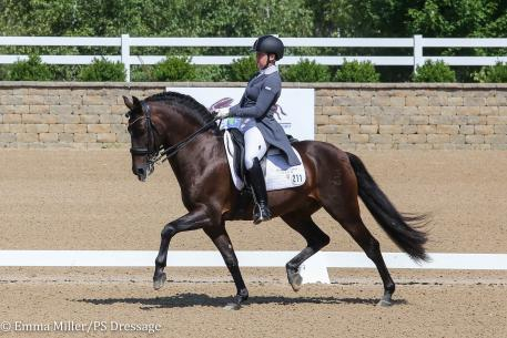 Kerrigan Gluch and HGF Brio (Photo: Emma Miller/PS Dressage)