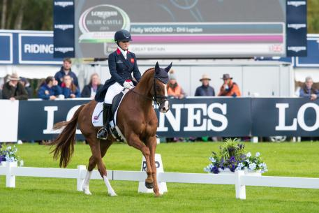 Holly Woodhead (GBR) and DHI Lupison