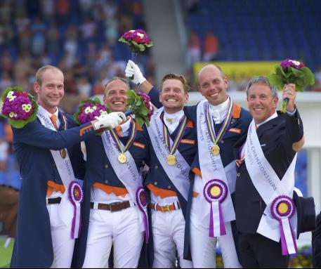 Wim Ernes, Olympic Dressage judge and Dutch team coach, has passed away at the age of 58