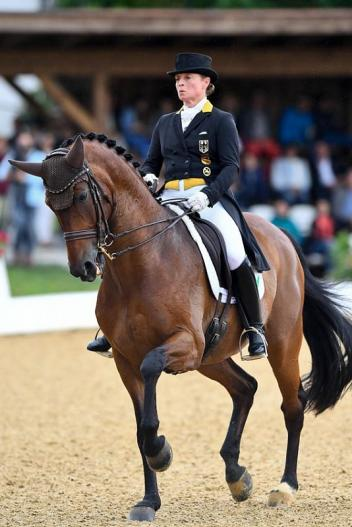 Isabell Werth won Sunday's Grand Prix Freestyle with Don Johnson FRH