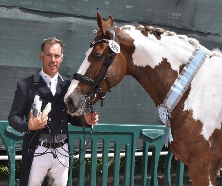 James Koford and Adiah HP were awarded the Adequan Global Dressage Festival Week 12 TransFormer Equine Sport Horse of the Week