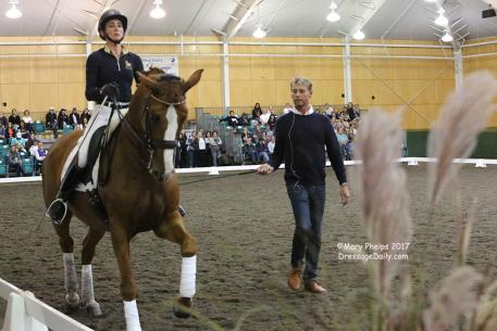 Jane Karol and Sunshine Tour with Carl Hester
