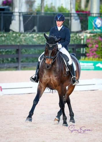 Jennifer Baumert and Handsome cement a superb week at AGDF, standing unbeaten on the CDI3* small tour circuit - and in their last six starts.