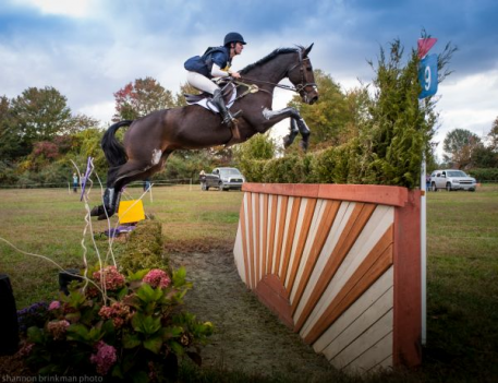 Jenny Caras and Fernhill Fortitude at 2015 Fair Hill.