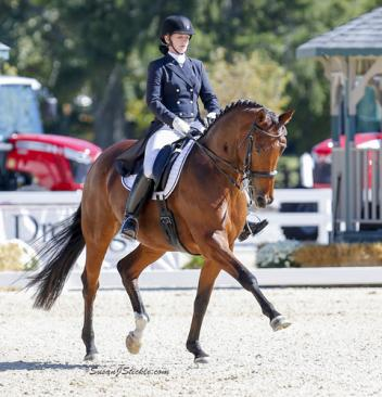 Zania and Jami Kment, Region Four, GAIG/ USDF Grand Prix Champions