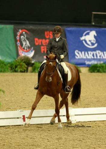 Julie McCrady looks to return to Lexington again this year to try for a Fourth Level title