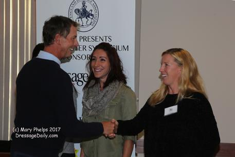 Carl Hester meets Karin Persson ©Mary Phelps 2017