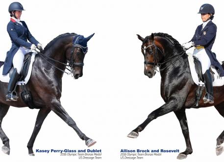 Through Dressage Today's Win a Day Contest, a lucky dressage rider can win a free clinic with their choice of one of three top Olympic riders, including Triple Crown Ambassadors Kasey Perry-Glass and Allison Brock