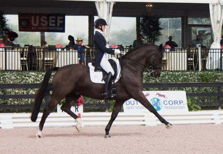 Katherine Bateson-Chandler will represent The Dutta Corp. U.S. Dressage Team with Jane F. Clark's Alcazar at the FEI Nations Cup CHIO Aachen in Germany