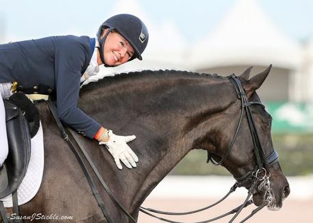 Katherine Bateson-Chandler and her gelding Alcazar are part of a select group of horse and rider combinations set compete at the Dutta Corporation Festival of Champions from December 8-12