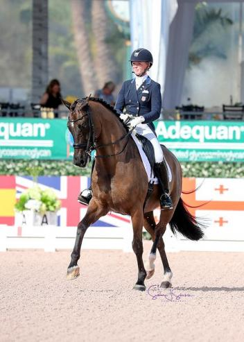 Katherine Bateson Chandler (USA) and Alcazar triumph in the Grand Prix Special CDI3*