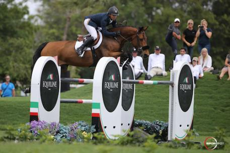 Kent Farrington and Gazelle