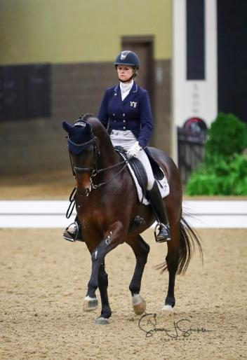 Faith in her mount paid off for Kristy Truebenbach Lund at the 2017 US Dressage Finals presented by Adequan® as she rode to victory in the Intermediate II Adult Amateur division