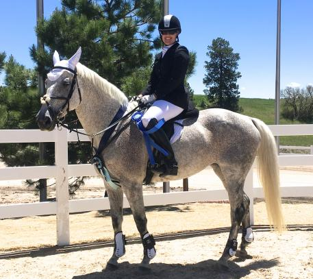 Lacey Messick and Second Hand Rose win the Omega Alpha Open Preliminary Division at the Colorado Horse Park FEI CCI**/* and CIC**