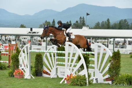 Laura Chapot won the $30,000 Open Jumper Classic on ISHD Dual Star