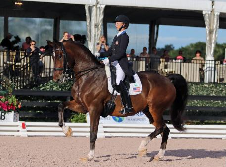 Laura Graves, The Dressage Foundation, Carol Lavell Advanced Dressage Prize