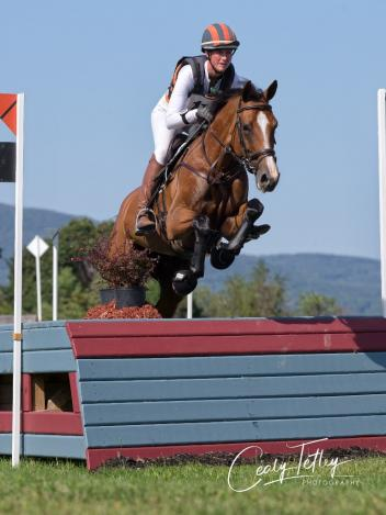 Lauren Kieffer (USA) and Get Gaudi Photo: Cealy Tetley