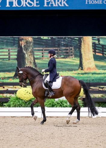 """Comback kids"" Lauren Thornlow and Royal Konig won the Grand Prix Adult Amateur Championship at the 2016 US Dressage Finals presented by Adequan®."