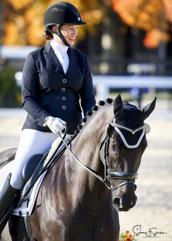 A long trip from California to the 2017 US Dressage Finals presented by Adequan® paid off with a victory for Lehua Custer and F.J. Ramzes in the Third Level Open Championship.