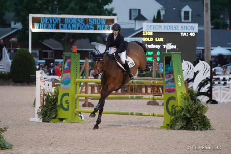 Lindsey Tomeu and Gold Lux (Photo: The Book LLC)