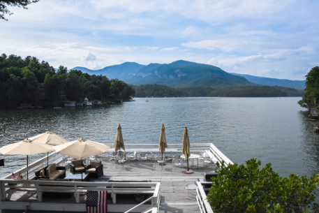 Scenic view from Lodge at Lake Lure  Photo ©MegBanks