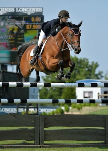 Lucy Deslauriers and Hester (McMillen photo)