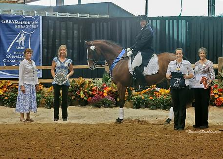 Lyndon Rife and Jago captured the GAIG Intermediaire II Championship.
