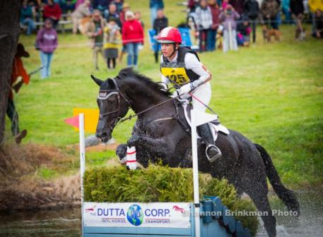 Mai Baum and Tamra Smith leading the CCI***