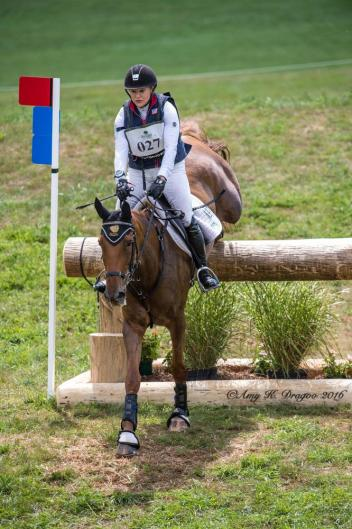 Marilyn Little (USA) and RF Demeter Were Flawless Cross-Country to Finish Second Individually