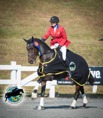 CCI*** Fall Champion Marilyn Little and RF Scandalous.