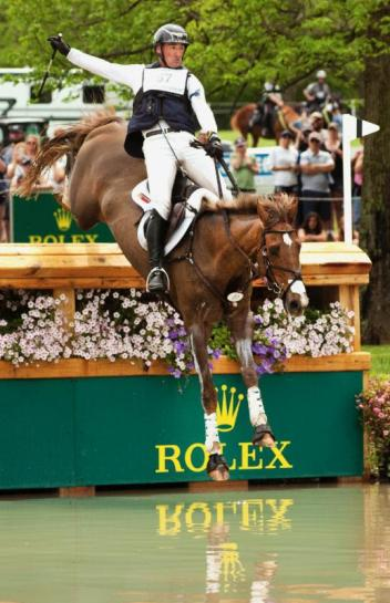 Matthew Brown and Super Socks BCF are standing fourth overall, but as the highest-placed Americans are leading the Rolex/USEF CCI4* Eventing National Championship.
