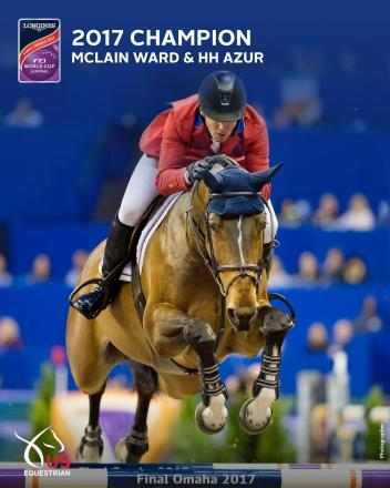 McLain Ward wins the 2017 FEI World Cup Jumping Finals on his 17th try with the incredible HH Azur!