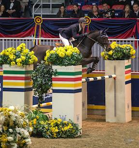 Two-time Olympic team gold medalist Mclain Ward produced the fastest four-fault performance to take third riding HH Carlos Z in the $50,000 Weston Canadian Open.
