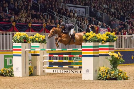 Two-time U.S. Olympic gold medalist Mclain Ward, pictured riding Rothchild, will be back to defend his grand prix title at the 2015 Royal Horse Show running November 6-15 at Exhibition Place in Toronto, ON.