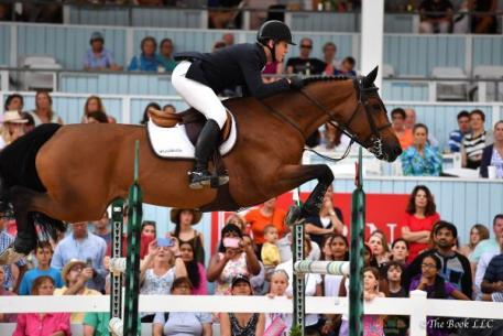 McLain Ward and Tina La Boheme.