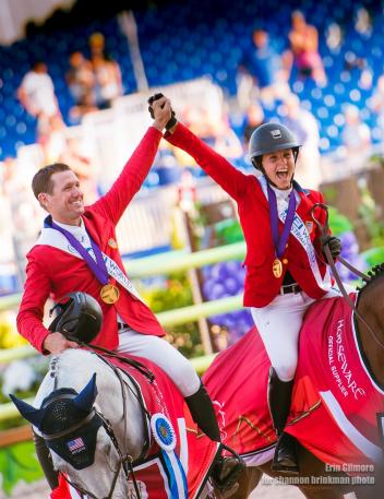 McLain Ward and Adrienne Sternlicht (Photo: Erin Gilmore for Shannon Brinkman)