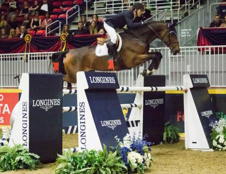 The United States' McLain Ward once again proves his dominance at The Royal Agricultural Winter Fair with yet another victory aboard HH Azur in the 30,270 Longines FEI World Cup™ Jumping Toronto.