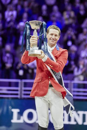 America's McLain Ward claimed top honours at the Longines FEI World Cup™ Jumping Final 2017 in Omaha (USA) with the mare HH Azur.