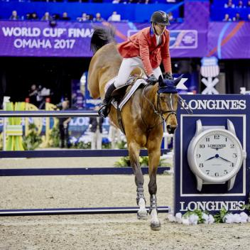 McLain Ward's victory with HH Azur